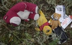 马航MH17遗落的物品